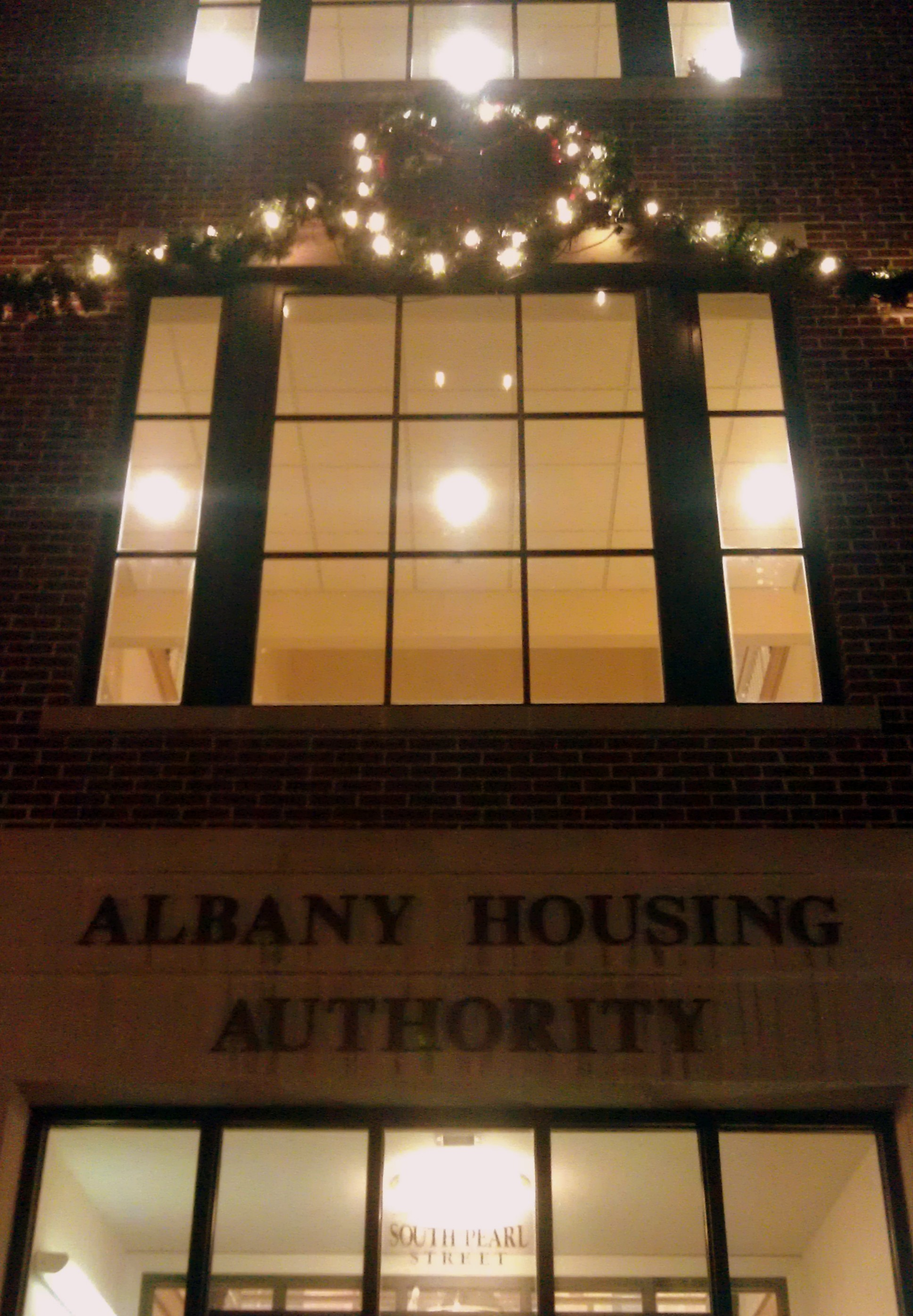 The Holidays are here at Albany Housing Authority Albany