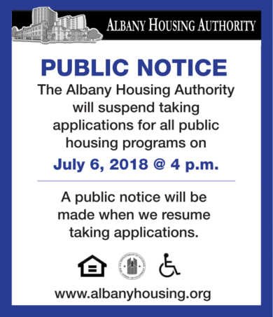 Rental Assistance Department - Albany Housing Authority News