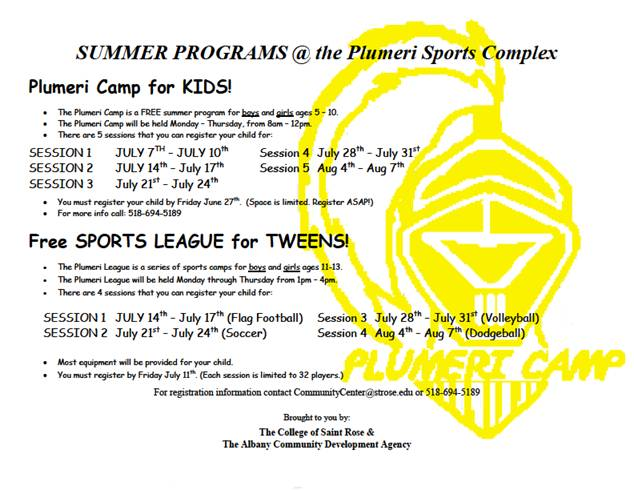 Plumeri Summer Program