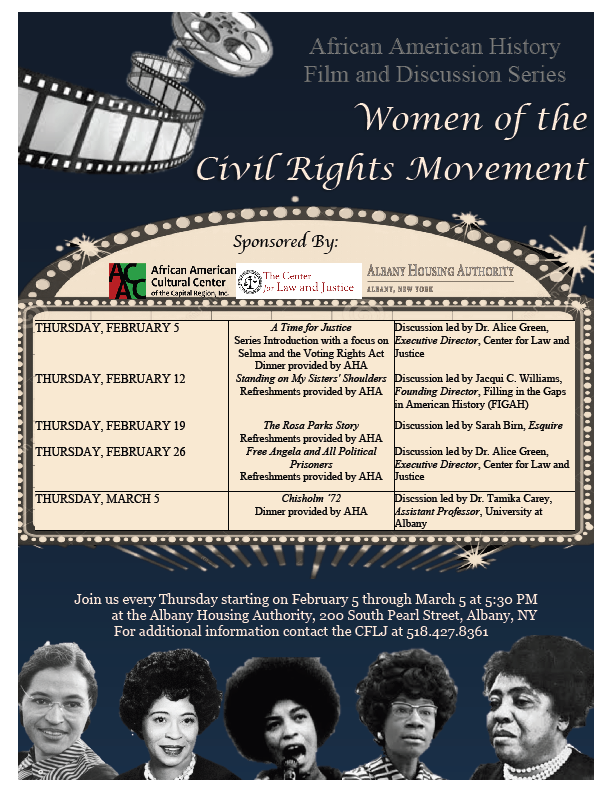 2015 African American History Film and Discussion Series