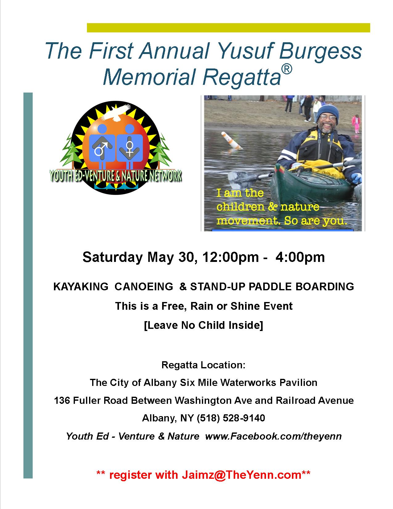 Kayaking Canoe Regatta Flyer