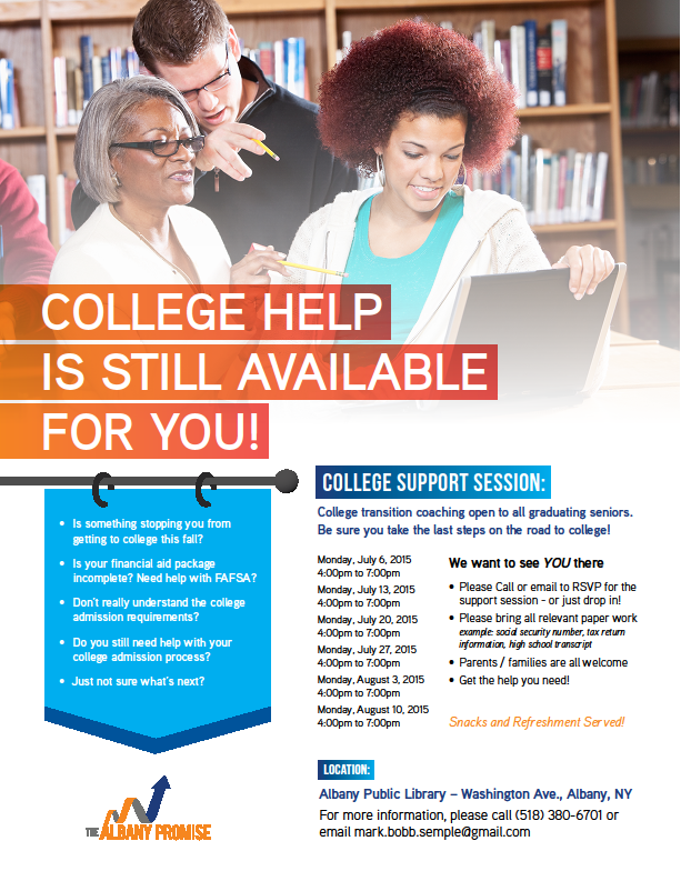 College Help Available