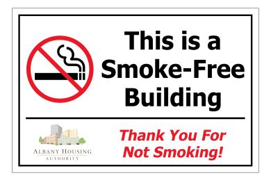 AHA Smoke Free 3