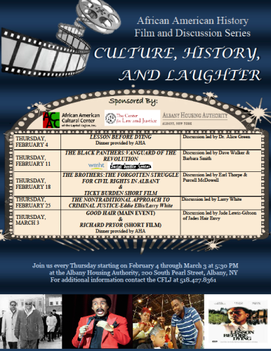 2016 AACCC Film Series