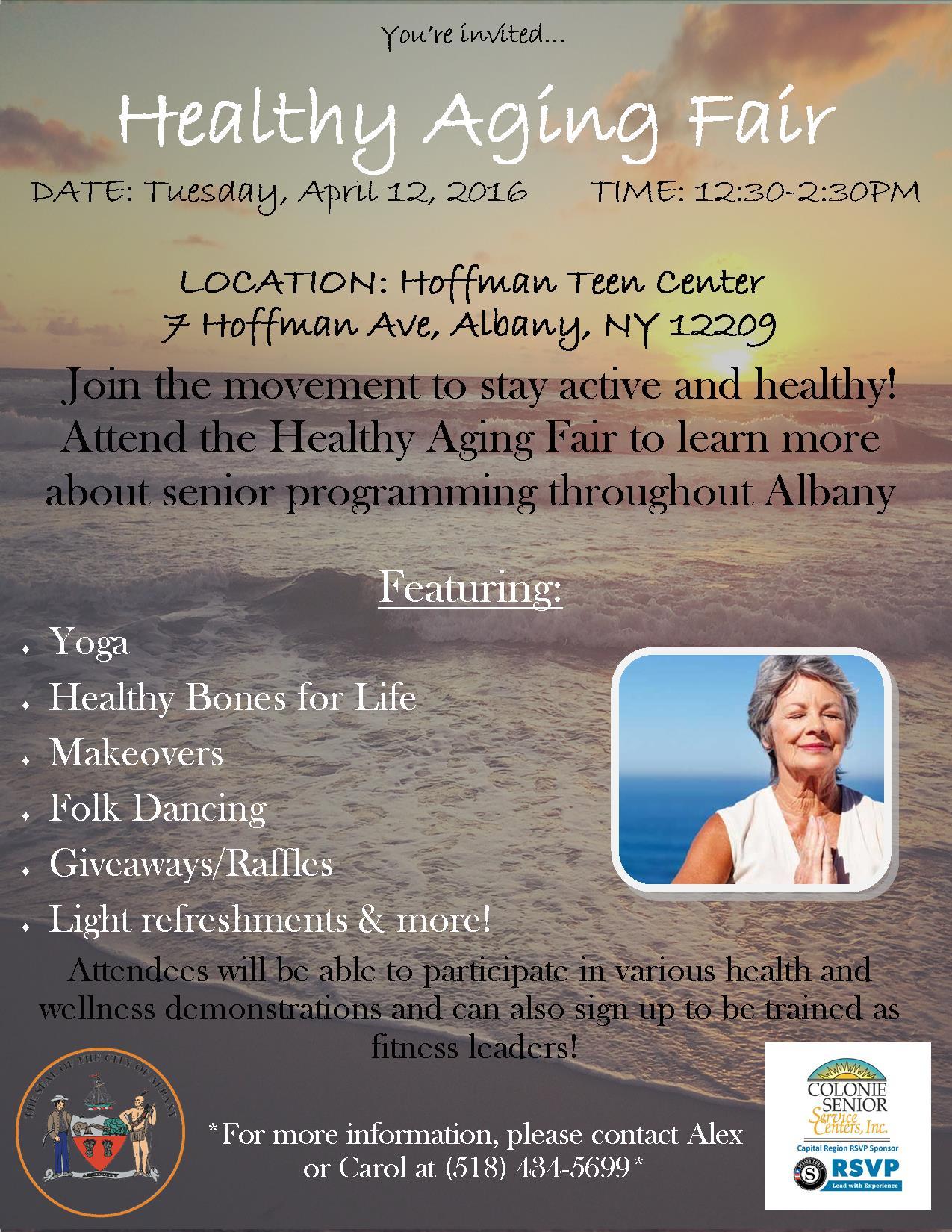 Healthy Aging Fair Flyer