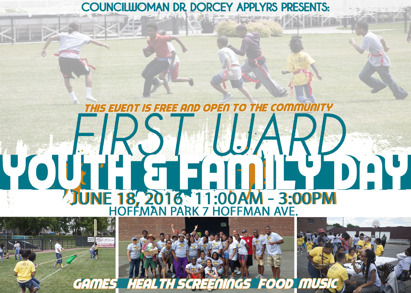 1st ward youth and family day