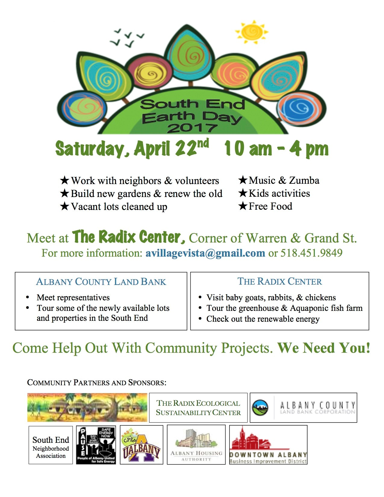 South End Earth Day Albany Housing Authority News