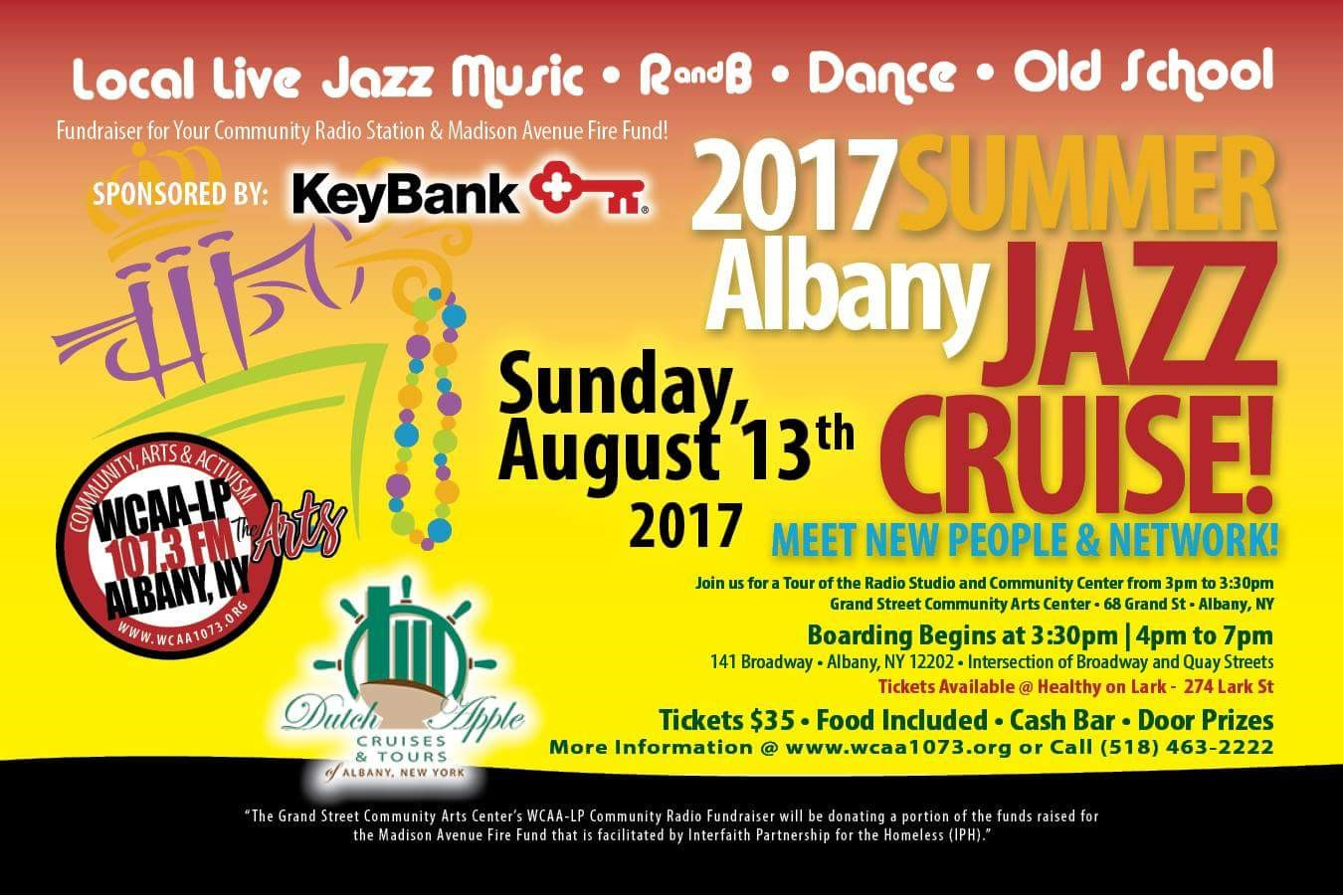 2017 Summer Jazz Cruise 8.7.17