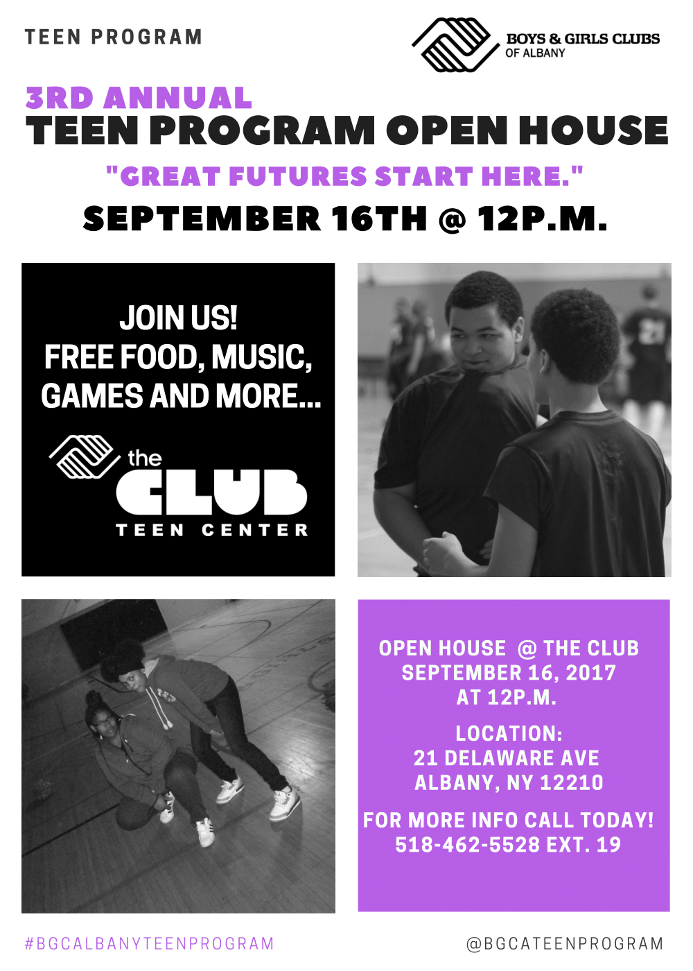 Boys & Girls Clubs of Albany Teen Program 8.2.17-1